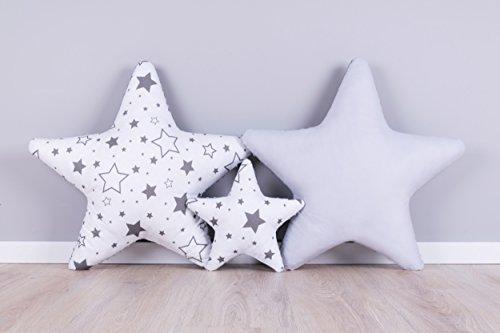 Verschiedene Produktbeschaffenheiten: Der Plüschstern SET3 x Stern